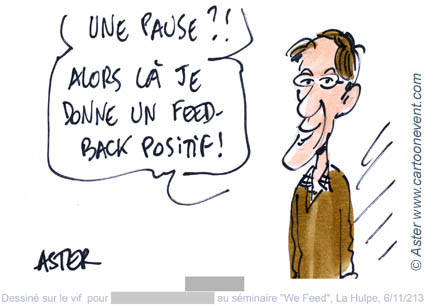 Illustration de propos - Feed-back positif
