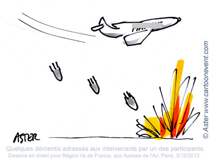 "Illustration de propos - Intervention  ""bombesques"""