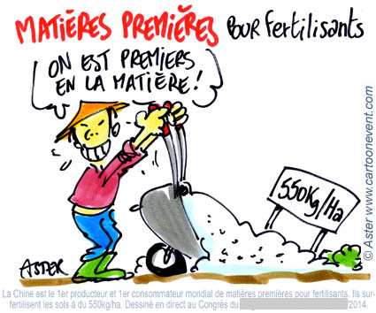 Illustration sur le vif - fertilisants