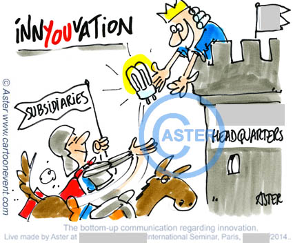 Illustration sur le vif - innovation bottom up
