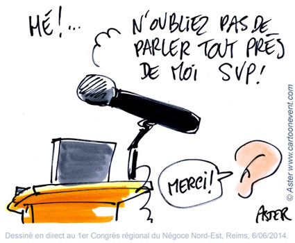Illustration sur le vif - micro