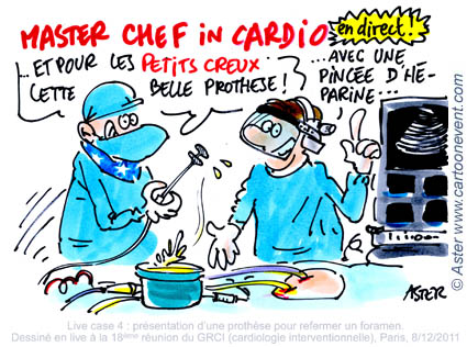 Cartoon cardiology 2011