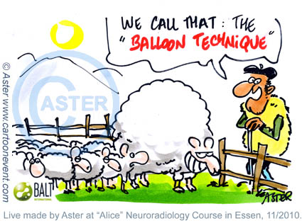 Cartoon neuroradiology 2012