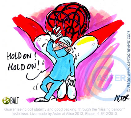 Cartoon neuroladiology