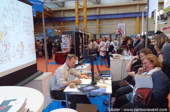 Animation de stand lors de salons foires commerciales et for Animation stand salon